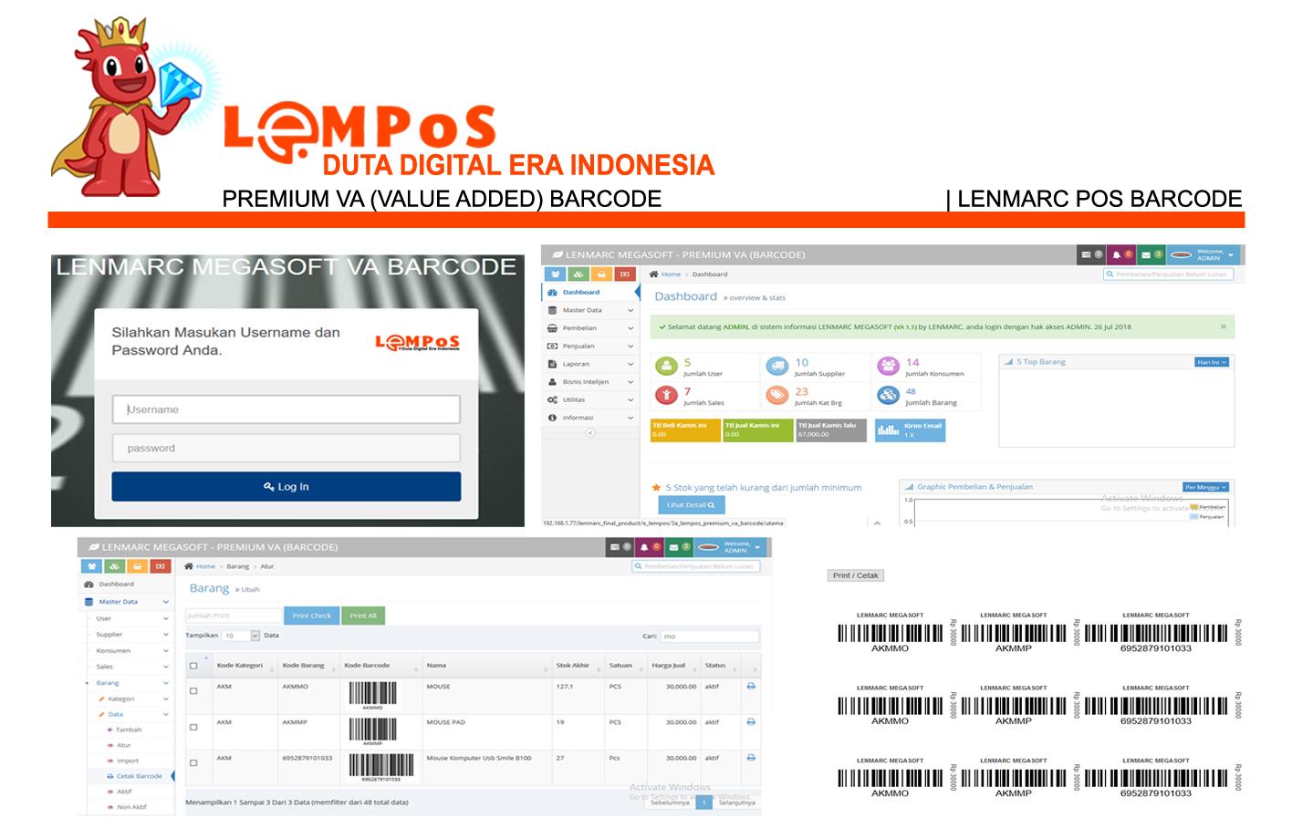 LEMPoS Barcode